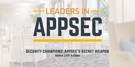 Leaders in AppSec - Chicago tickets