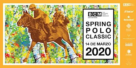 Spring Polo Classic boletos