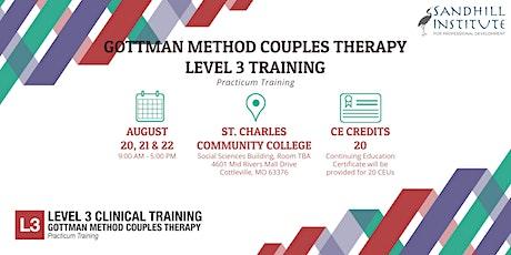 Gottman Method Couples Therapy  - Level 3 Training tickets