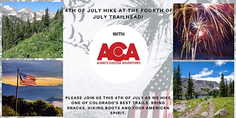 4th of July Hike at the Fourth of July Trailhead!  tickets