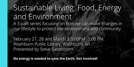 Sustainable Living: Food, Energy & Environment