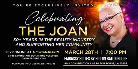 Celebrating The Joan 30+ Years In The Beauty Industry & Helping Her Community tickets