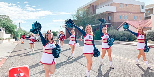 University of Arizona Competitive Cheer Clinic