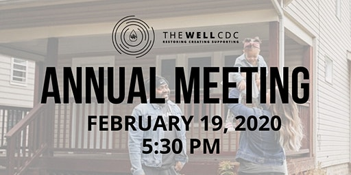 The Well CDC's 2020 Annual Meeting