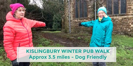 KISLINGBURY WINTER PUB WALK | 3.5 MILES | EASY | NORTHANTS tickets