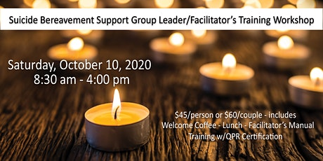 Suicide Loss Survivor Support Group Leader/Facilitator Training Workshop tickets
