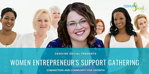 March Women Entrepreneur's Support Gathering - Genuine Social(TM)