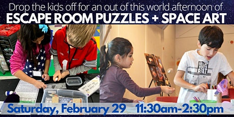 Pop-Up Escape Room + Space Art for Kids! tickets