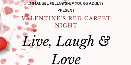 Valentine's Red Carpet Night: Live, Laugh & Love tickets