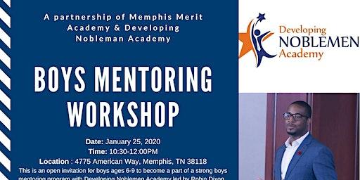 Boys Mentoring Workshop -Developing Noblemen Academy
