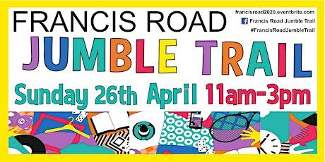 Francis Road Jumble Trail 2020 tickets