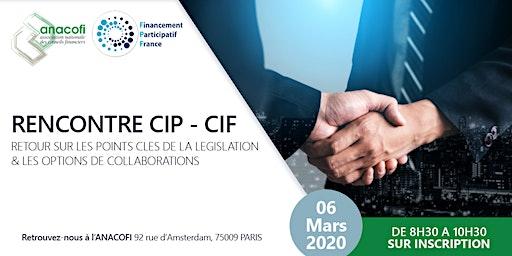 Rencontre CIP - CIF