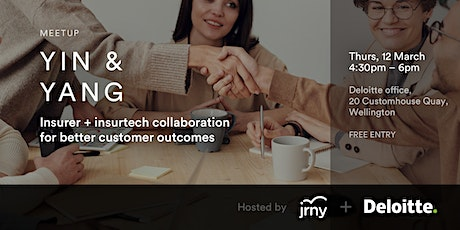 Yin and Yang - Insurer/Insurtech Collaboration for Better Customer Outcomes tickets