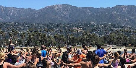 Santa Barbara Yoga on Stearn's Wharf tickets