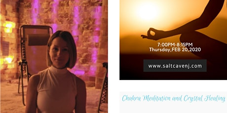 Chakra meditation and breathwork workshop in salt cave tickets