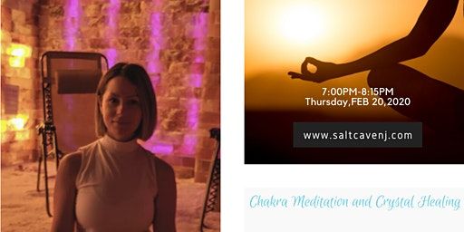 Chakra meditation and breathwork workshop in salt cave