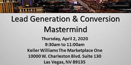 Lead Generation & Conversion Mastermind tickets
