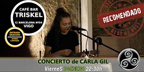 Concierto de Carla Gil en Vigo entradas