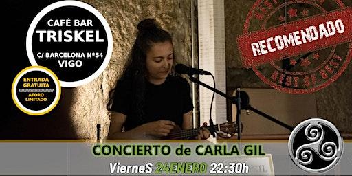 Concierto de Carla Gil en Vigo