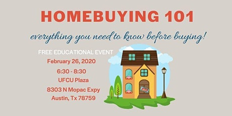 Homebuying 101 - FREE educational event tickets