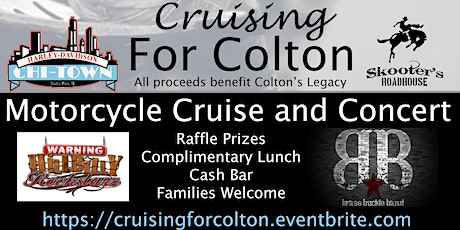 Colton's Legacy Cruise and Concert  tickets