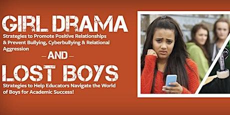 Girl Drama/Lost Boys Seminar: Baltimore, MD  24 March 2020 tickets