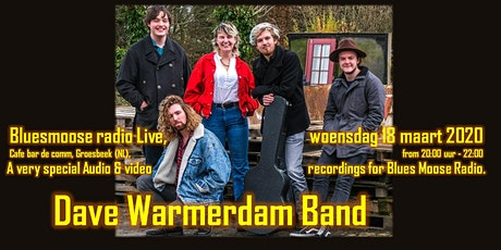 Dave Warmerdam band live at Bluesmoose radio (audio and video recordings) tickets