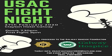 USAC  Charity Boxing Night tickets