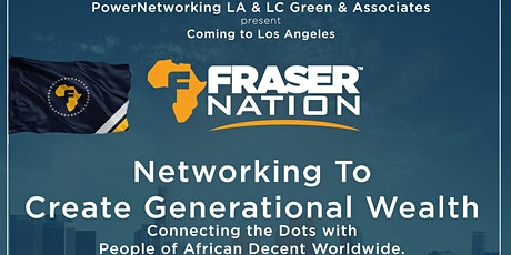 Networking to Create Generational Wealth tickets