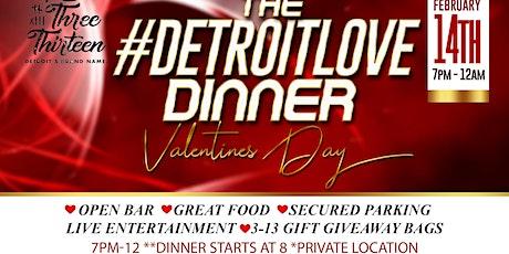 #DETROITLOVE DINNER tickets