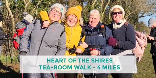 HEART OF THE SHIRES TEA-ROOM WALK | 4 MILES | MODERATE | NORTHANTS