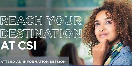 Train for a new career in 2020 Information Session tickets