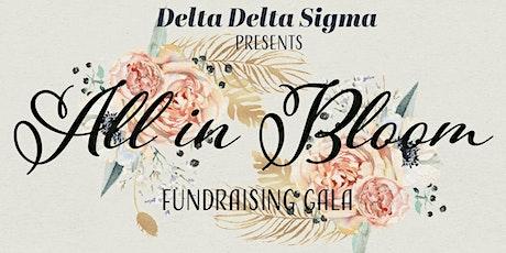 Delta Delta Sigma: All In Bloom Fundraising Gala tickets