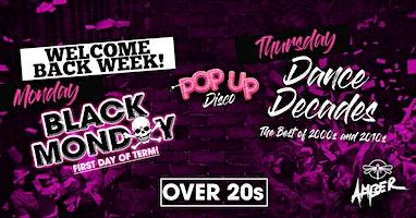 Pop Up Disco: Welcome Back Week!