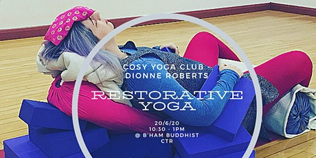 Restorative Yoga Workshop + Sound Bath tickets