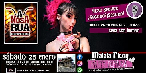 Monólogo de Malala Ricoy en Beade - Vigo