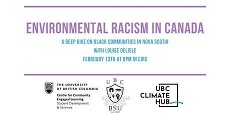 Environmental Racism in Canada tickets