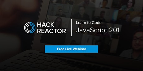 [WEBINAR] JavaScript 201 Tickets