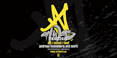 Artwars -art -sound - food Tickets