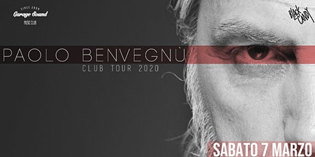 Paolo Benvegnù _ Club Tour 2020 biglietti