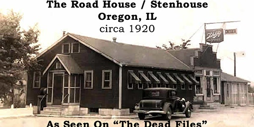 Road House Haunted History Dinner Show & Building Tour - March 14, 2020