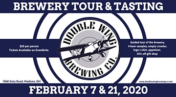 Double Wing Brewing Co. Tour & Tasting