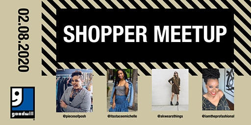 Goodwill Shopper Meetup