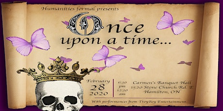 Once Upon a Time: Humanities Formal tickets