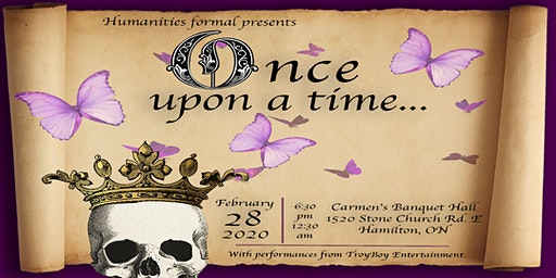Once Upon a Time: Humanities Formal