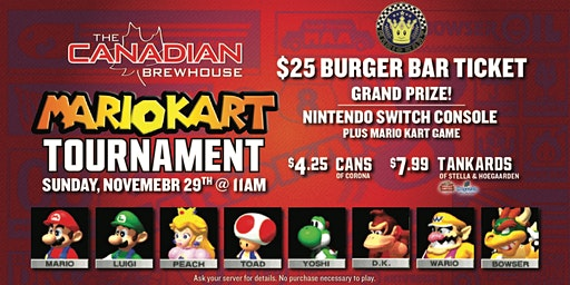 Leduc Mario Kart 64 Tournament!