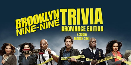 Brooklyn 99 Trivia - March 31, 7:30pm - Stonewalls Hamilton tickets