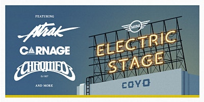 MINI Presents: The Electric Stage