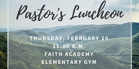 Pastor's Luncheon 2020 tickets