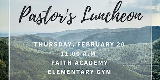 Pastor's Luncheon 2020